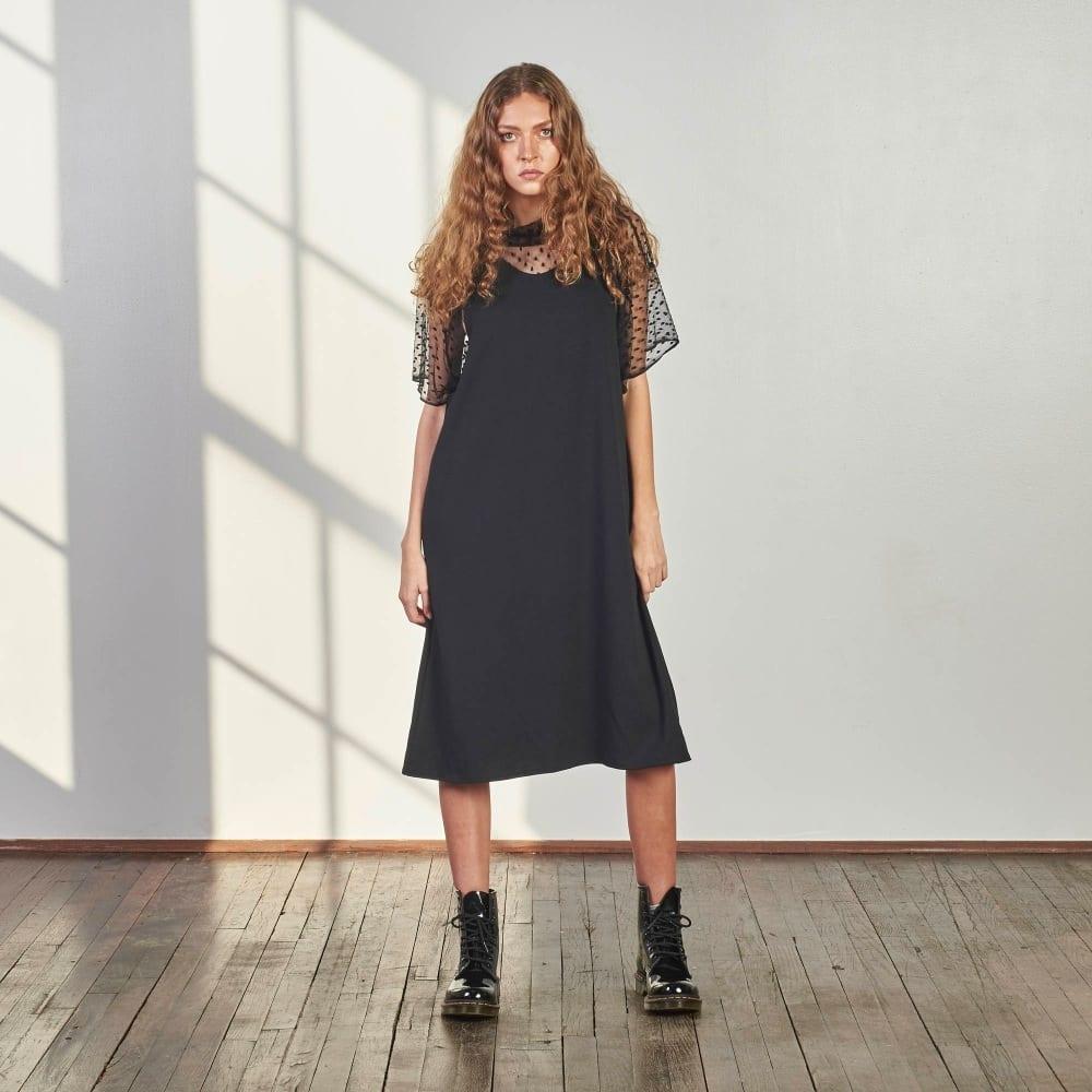Ponte Tank Dress-0