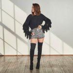 Black Tasseled Sweater-0