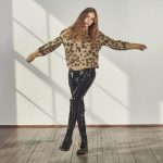 Leopard Knitted Sweater-0