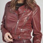 Faux Leather Moto Jacket-4760