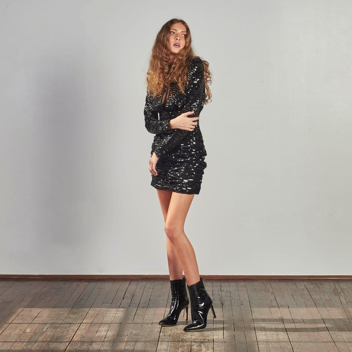Moment To Shine Sequin Dress -4896