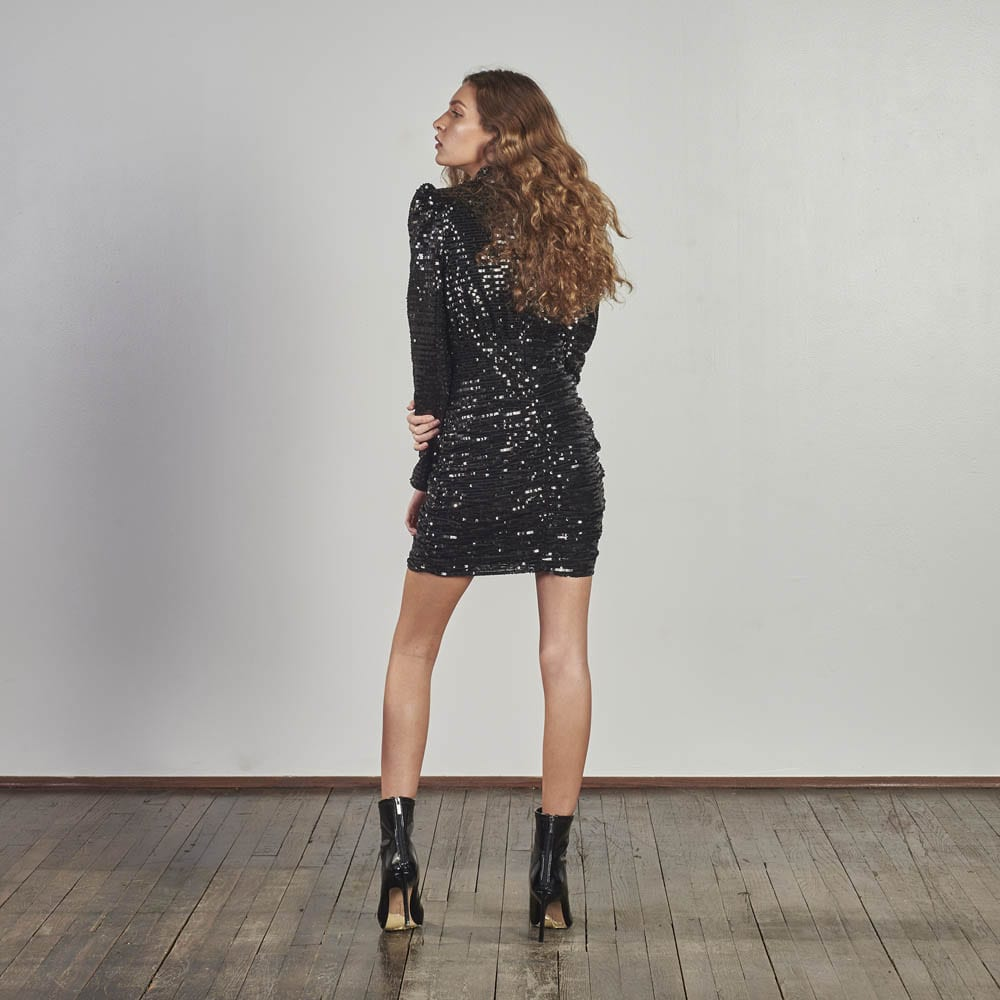 Moment To Shine Sequin Dress -4895
