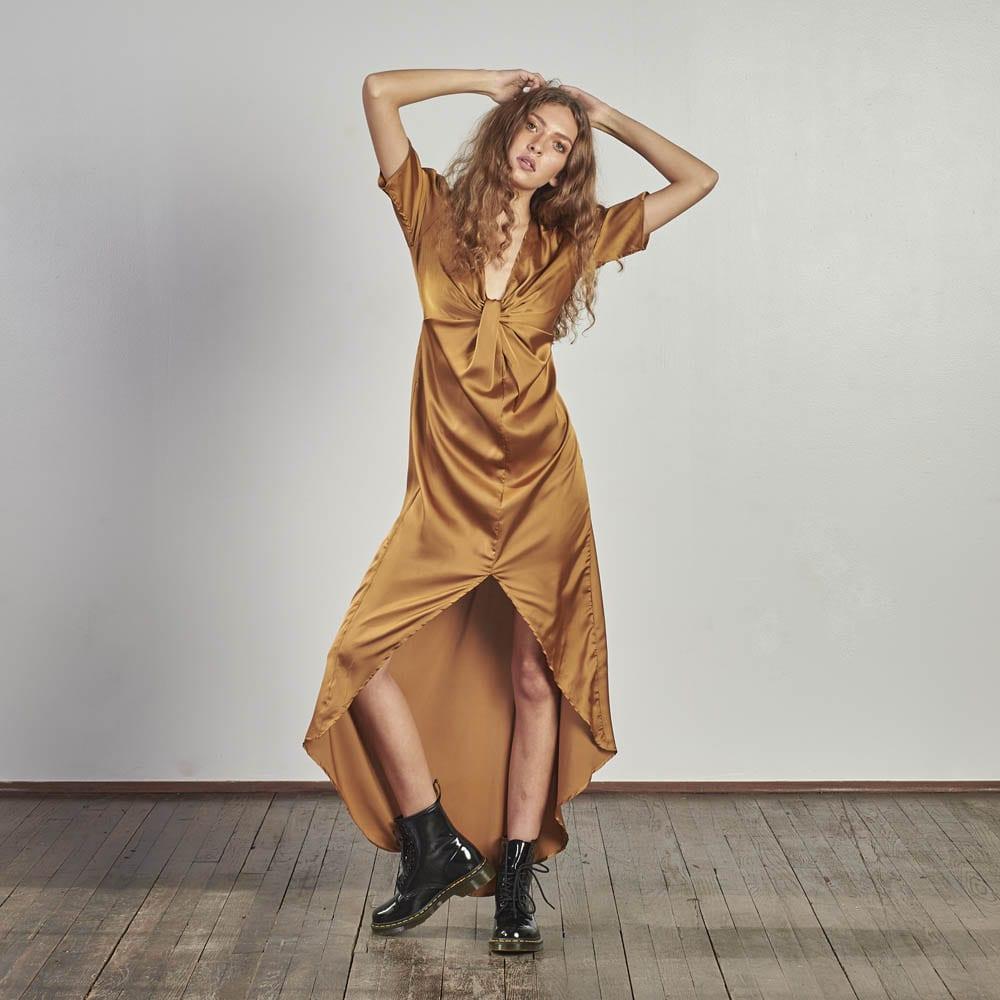 Gold Trail Dress-0