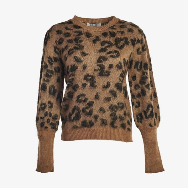 Leopard Knitted Sweater-4799