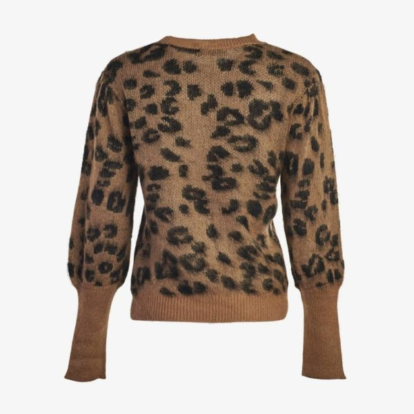 Leopard Knitted Sweater-4801