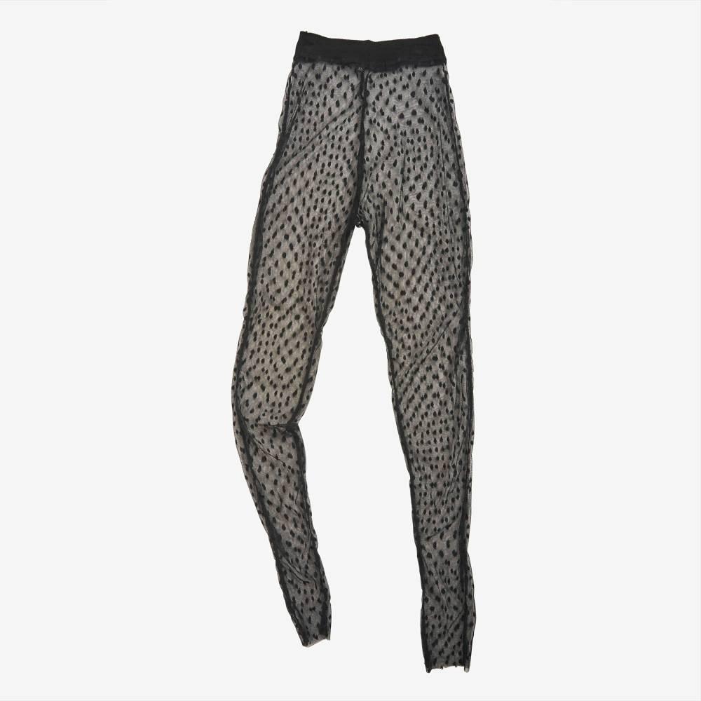 Dotted Sheer Legging-5172