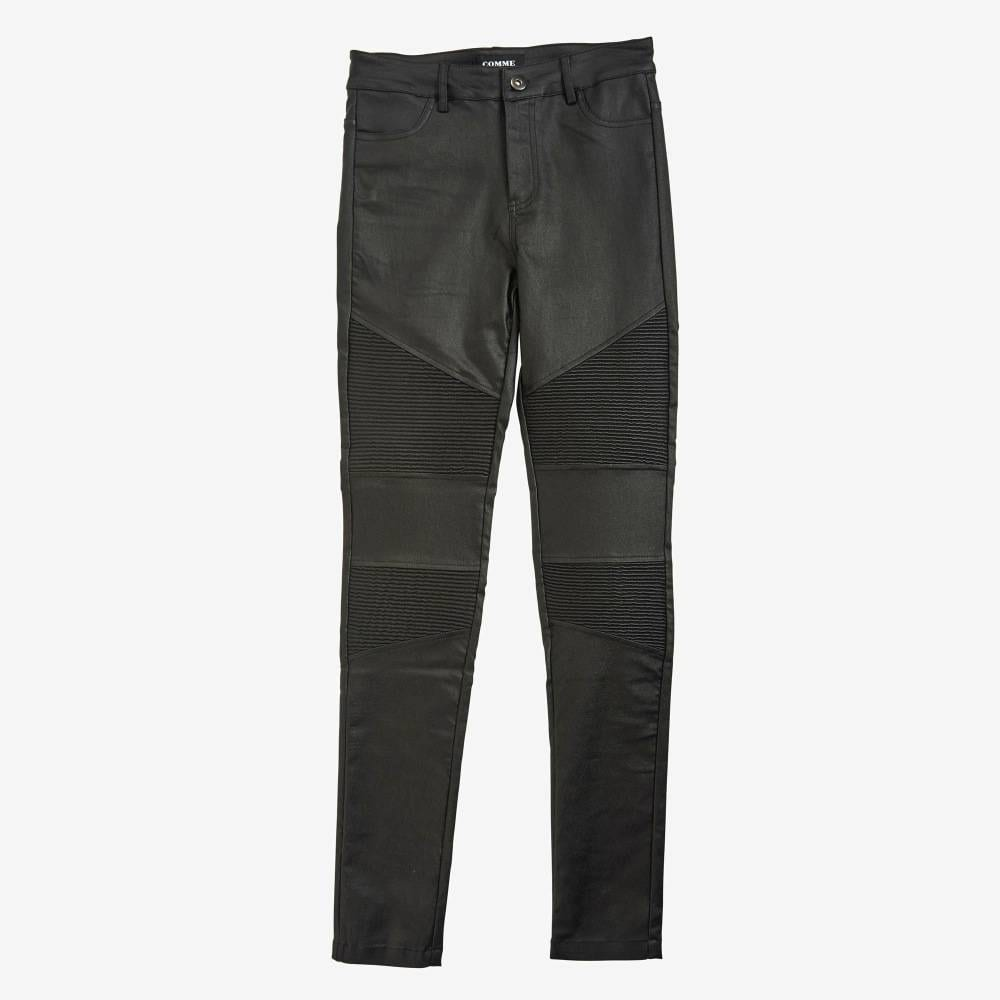 Black Moto Pant-4962