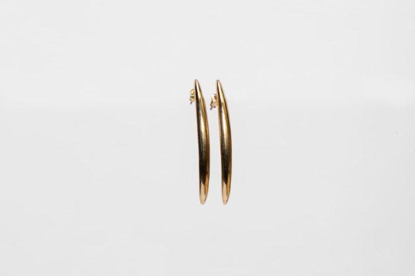 Gold Pike Earring-0