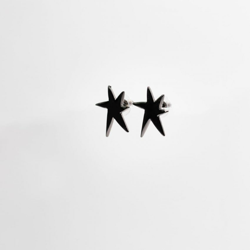Pop Art Bam Ear Stud Earring-4981