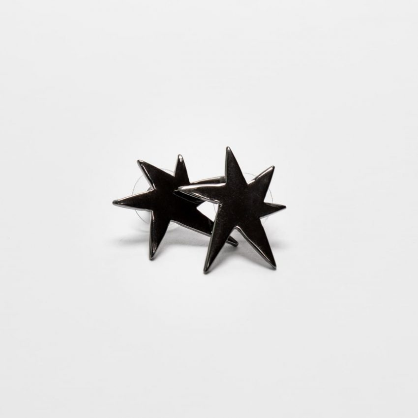 Pop Art Bam Ear Stud Earring-0