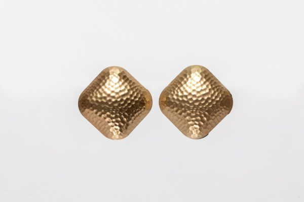 Gold Statement Earring -0