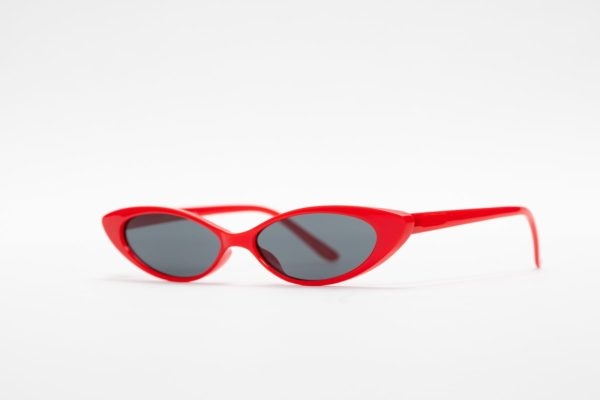 Retro Red Tiny Cat Eye Sunnie-5194