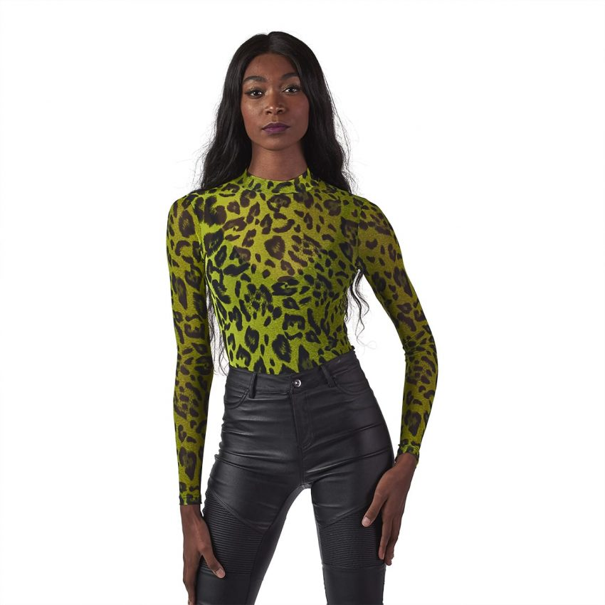 Wildly Neon Bodysuit -5199