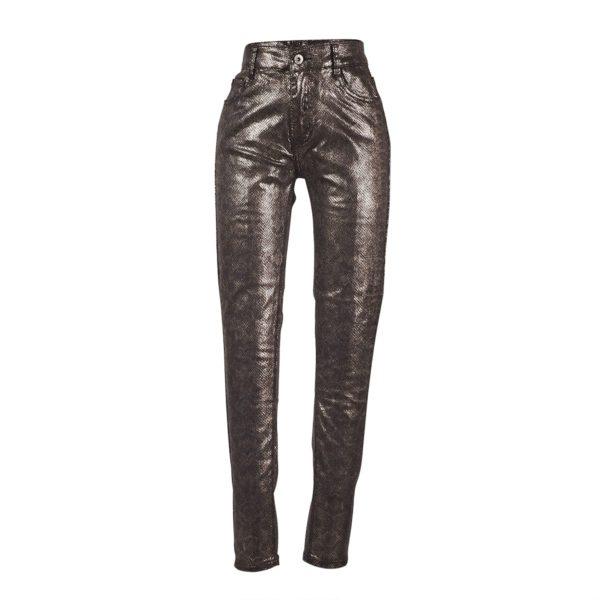 Shiny Glitz Snake Pant-5268
