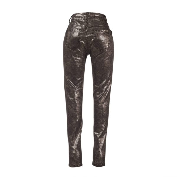 Shiny Glitz Snake Pant-5269