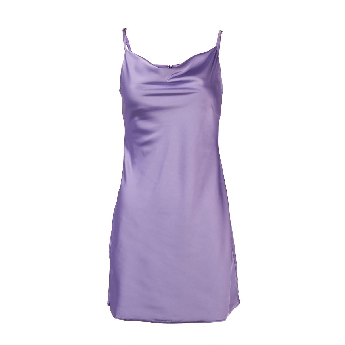 Lavender Slip Dress-5245