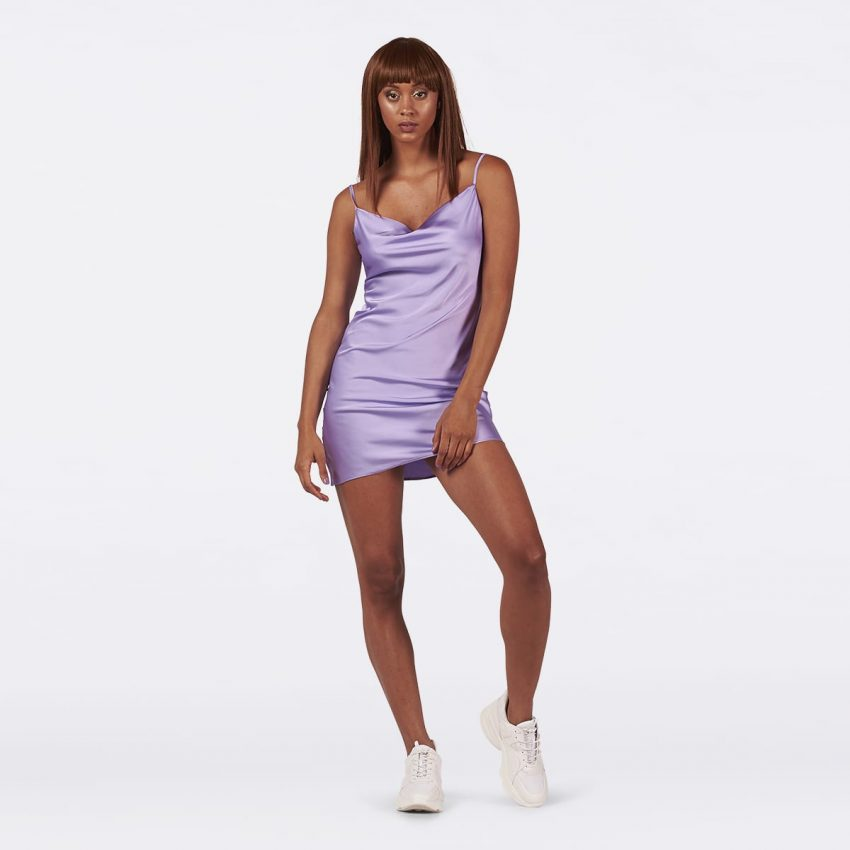 Lavender Slip Dress-0