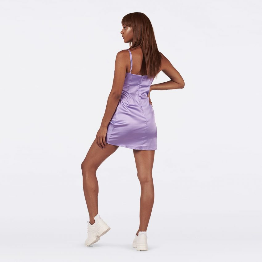 Lavender Slip Dress-5243